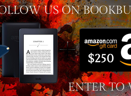 Book Throne's BookBub Giveaway – Enter to Win a $250 Amazon Gift Card!
