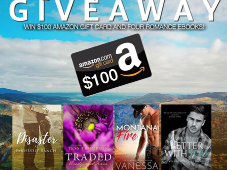 Small Town Romance Giveaway – Enter to Win a $100 Amazon Gift Card!