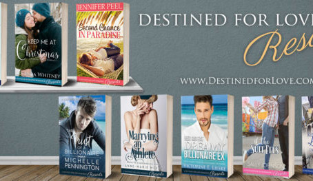 Meet the authors from the Destined for Love Resorts Collection and win a $100 Amazon Gift Code o