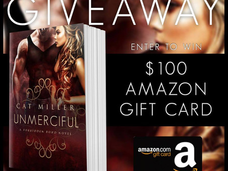 Celebrate Cat Miller's new book release and WIN a $100 Amazon Gift Card