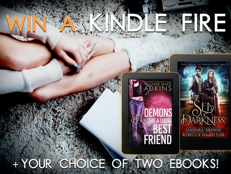 Check out all these great authors and Win a Kindle Fire & any two ebooks!