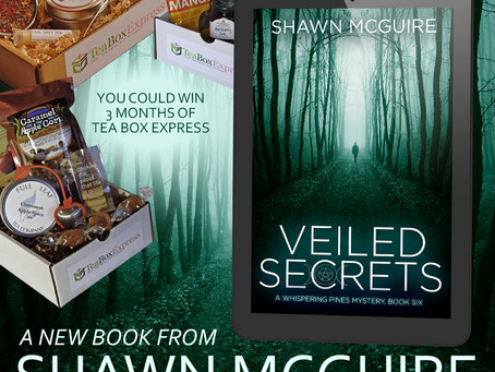 A Mystifying Giveaway from Shawn McGuire – Enter to Win a $100 Amazon gift card + more!