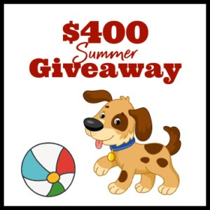 Dog Days Giveaway – Enter to Win 2 x $200 Amazon Gift Cards!