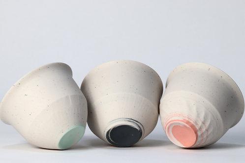 Speckled Porcelain cup