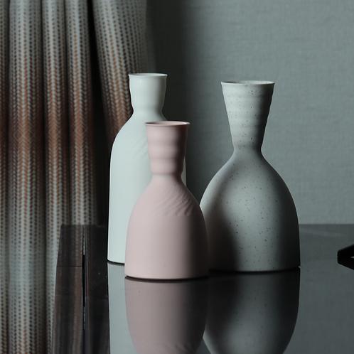 Small Pink Porcelain Carafe