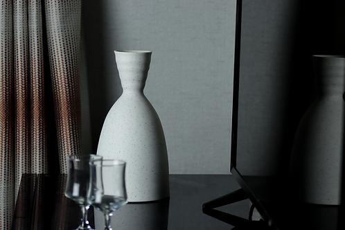 Black Fleck Porcelain Carafe - 1