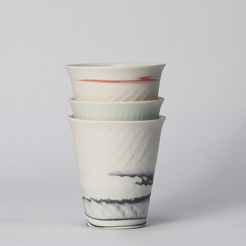 Coloured Porcelain Beaker