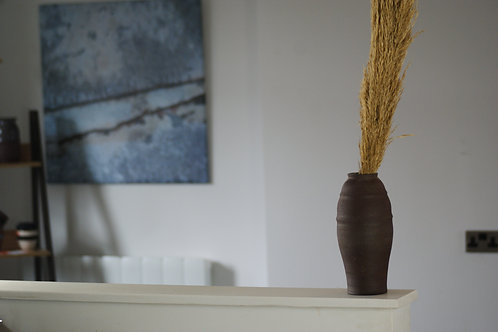 Red Clay Vase