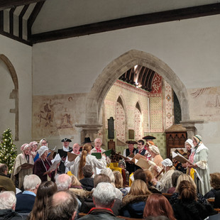 Some photos from the 2019 Carol Concert