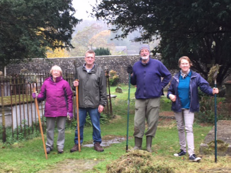 Churchyard Gardening Group Award