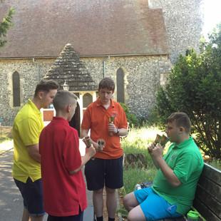 Bellringing Visitors at St Peters