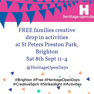 Heritage Open Day, 8th September