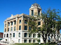 A picture of Cooke County Courthouse