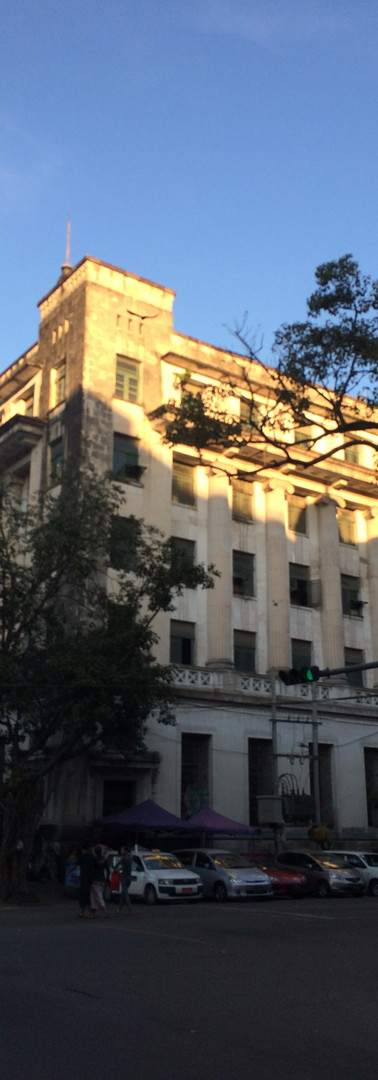 Regeneration of Historic Life Insurance Corporation Building, Yangon, Myanmar │ミャンマー、ヤンゴンの歴史的ライフ・インシュアランス・コーパレーシュンビルの再生