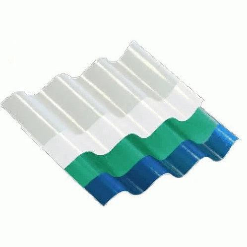 Blue Roof Sheeting 8.5 x 7.2m x 0.8mm x 10units