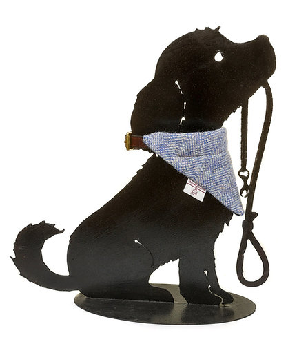 Dog Cravats - Chilcott Harris Tweed® - Cornflower Blue