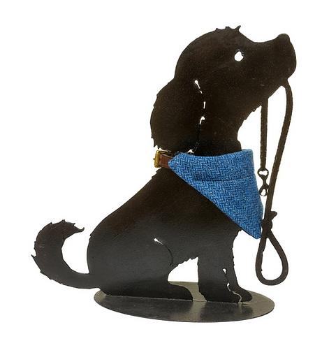 Dog Cravats - Chilcott Harris Tweed® - Blue