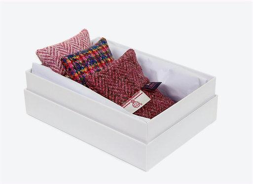 Harris Tweed® and Chilcott Lavender Bags - Gift Box Set of 3