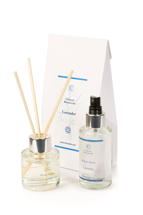 Diffuser and Room Spray Gift Set : Lavender
