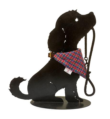 Dog Cravats - Chilcott Harris Tweed® - Multicoloured Check