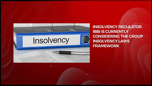 Group Insolvency - An Overview