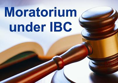 Applicability of Moratorium under IBC on Cheque Dishonour Proceedings