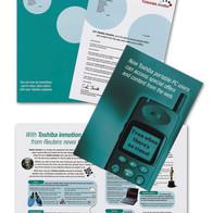 Toshiba Direct Mail Design