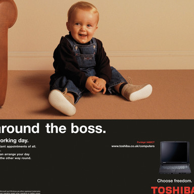 Toshiba National Advertising Campaign
