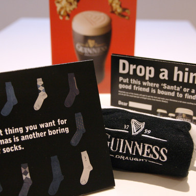 Guinness Christmas Direct Mail