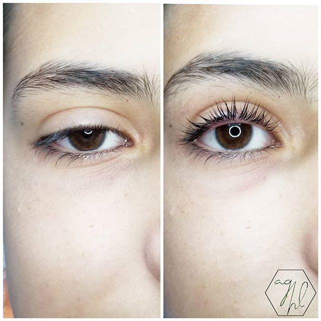 Before + After: Lash Lift + Tint