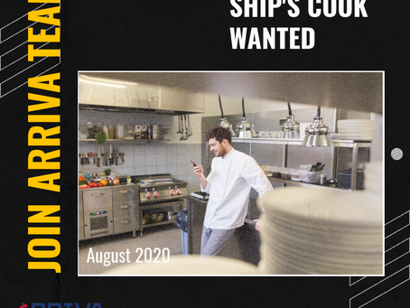 Ship's Cook Wanted