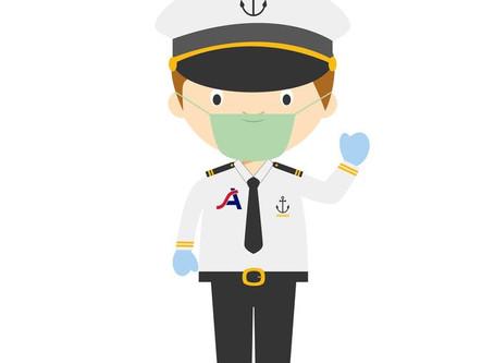 Nowe zasady dotyczące odbycia kwarantanny przez marynarzy.