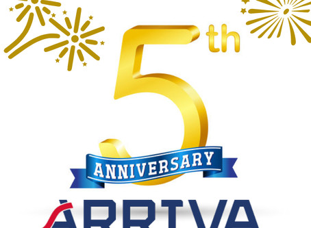We are celebrating our 5th anniversary!
