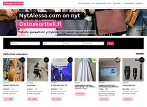 Markkinapaikka yrityksille OstosKortteli.fi