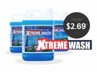 Xtreme Wash Windshield Washer Fluid