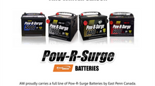 Pow-R-Surge Batteries this winter