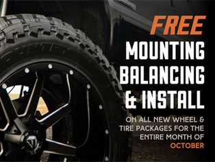 October Wheelfest happening now in our Performance & Accessories Showroom