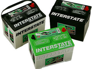 When only the best will do. Rely on Interstate Batteries.