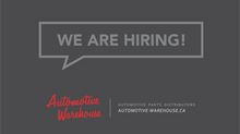 Automotive Warehouse is hiring!