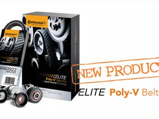 Continental Elite Poly-V Belts