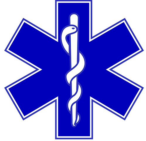 10 x Club with Star of Life logo