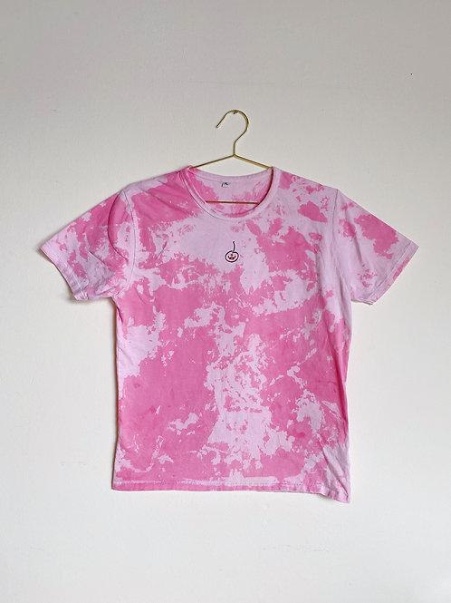 Krise Chriesi Pink Tie-Dye T-Shirt
