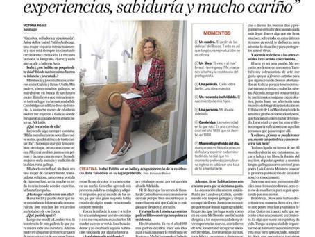 Entrevista a Isabel Patiño