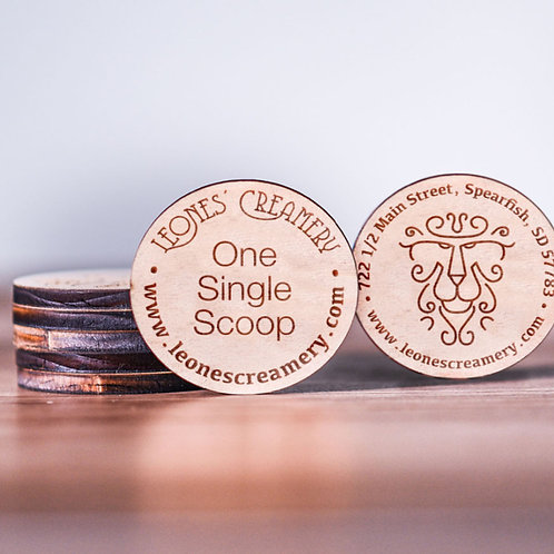 Double Sided Round Tokens