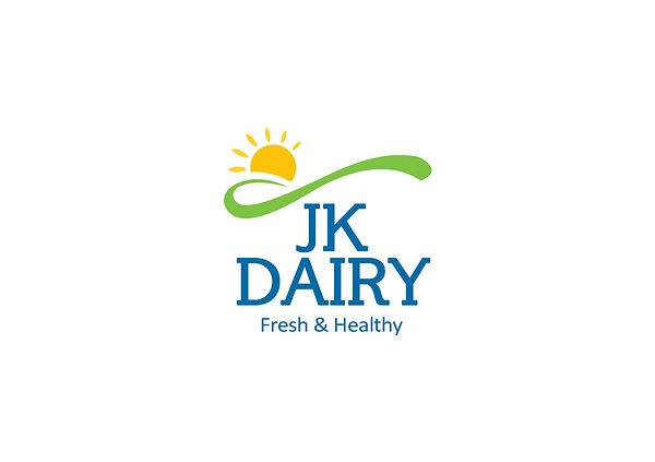 J K Dairy Logo Design