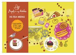 Hi Tea menu front