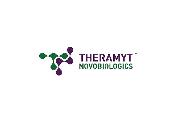 Theramyt Novobiologics Logo Design