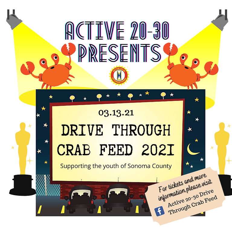Active 20-30 Drive Through Crab Feed