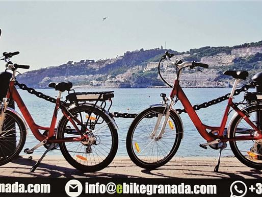 Wussten Sie, dass man in Almuñécar eBike's mieten kann?