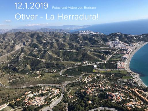 12.1.2019 Otivar - La Herradura